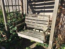 Chaise de jardin Images libres de droits