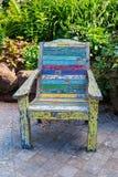 Chaise de jardin Photos libres de droits