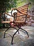 Chaise de méditation images libres de droits