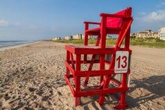Chaise de maître nageur Photos stock