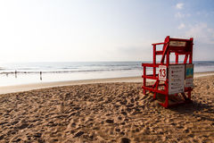 Chaise de maître nageur Photo libre de droits