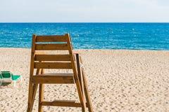 Chaise de maître nageur Photos libres de droits