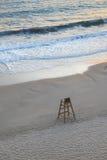 Chaise de maître nageur Images libres de droits