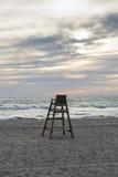 Chaise de maître nageur Images stock