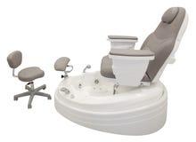 Chaise de pédicurie Images stock