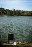 Chaise de pêche Image stock