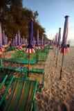 Chaise de plage Photo libre de droits
