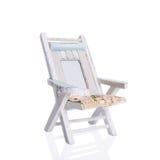 Chaise de plate-forme rustique Photos libres de droits