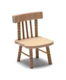 Chaise de poupée Photographie stock libre de droits