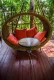 Chaise de sofa Photographie stock libre de droits