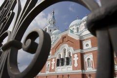 Chaise de Spaso-Preobrazhenskiy image stock