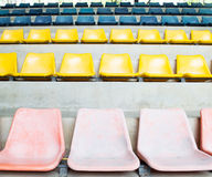 Chaise de stade Photographie stock