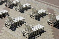 Chaise di plastica Immagine Stock Libera da Diritti