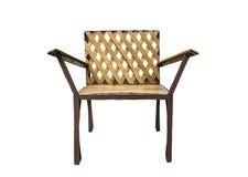 Chaise en bambou Photographie stock