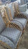 Chaise en bambou Photos stock