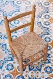 Chaise en bois Photographie stock libre de droits