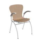 Chaise en bois Photo libre de droits