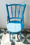 Chaise en bois Images stock