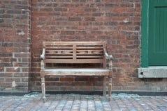 Chaise en bois de vintage Photo libre de droits