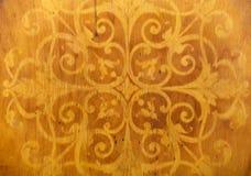 Modèles en bois faits maison de chaise Images libres de droits