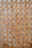 Chaise en osier de dossier, formes géométriques photos stock