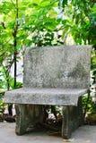 Chaise en pierre Photographie stock
