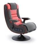 Chaise ergonomique en cuir de jeu Photos stock