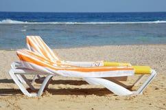 Chaise-longue stock photo