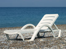 Chaise lounge Royalty Free Stock Photos