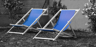 Chaise lounge Royalty Free Stock Photo