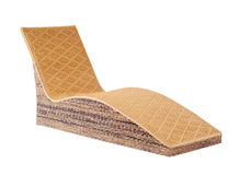 Chaise lounge stock image