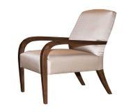 Chaise moderne de textile Photos stock