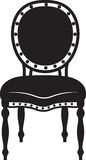 Chaise néoclassique moderne illustration de vecteur