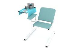 Chaise procédurale avec des médecines Illustration Stock