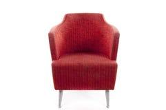 Chaise rouge Photographie stock libre de droits