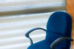 Chaise vide de bureau image libre de droits
