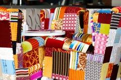 Chaises colorées Photo stock