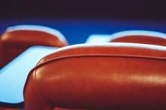 Chaises dans le cinéma Photo libre de droits