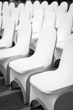 Chaises de banquet Images libres de droits