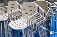 Chaises de barre Image libre de droits