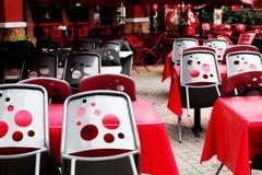 Chaises de domino Photographie stock libre de droits
