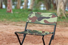 Chaises de pique-nique Image stock