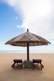 Chaises de plage Images stock