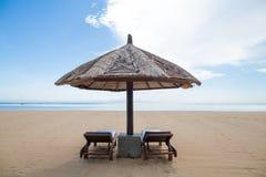 Chaises de plage Image stock