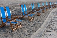Chaises de plage Photo libre de droits