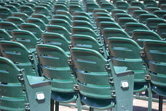 Chaises de stade Photos stock
