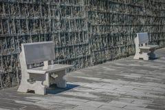 Chaises en pierre Image libre de droits
