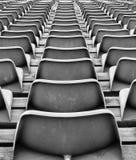 Chaises en plastique Images stock