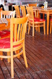 Chaises et tables Photos libres de droits