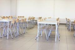 Chaises et tables Photo stock